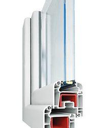 система с повышенным энергосбережением, для чего в системе устанавливается стеклопакет до 42 мм